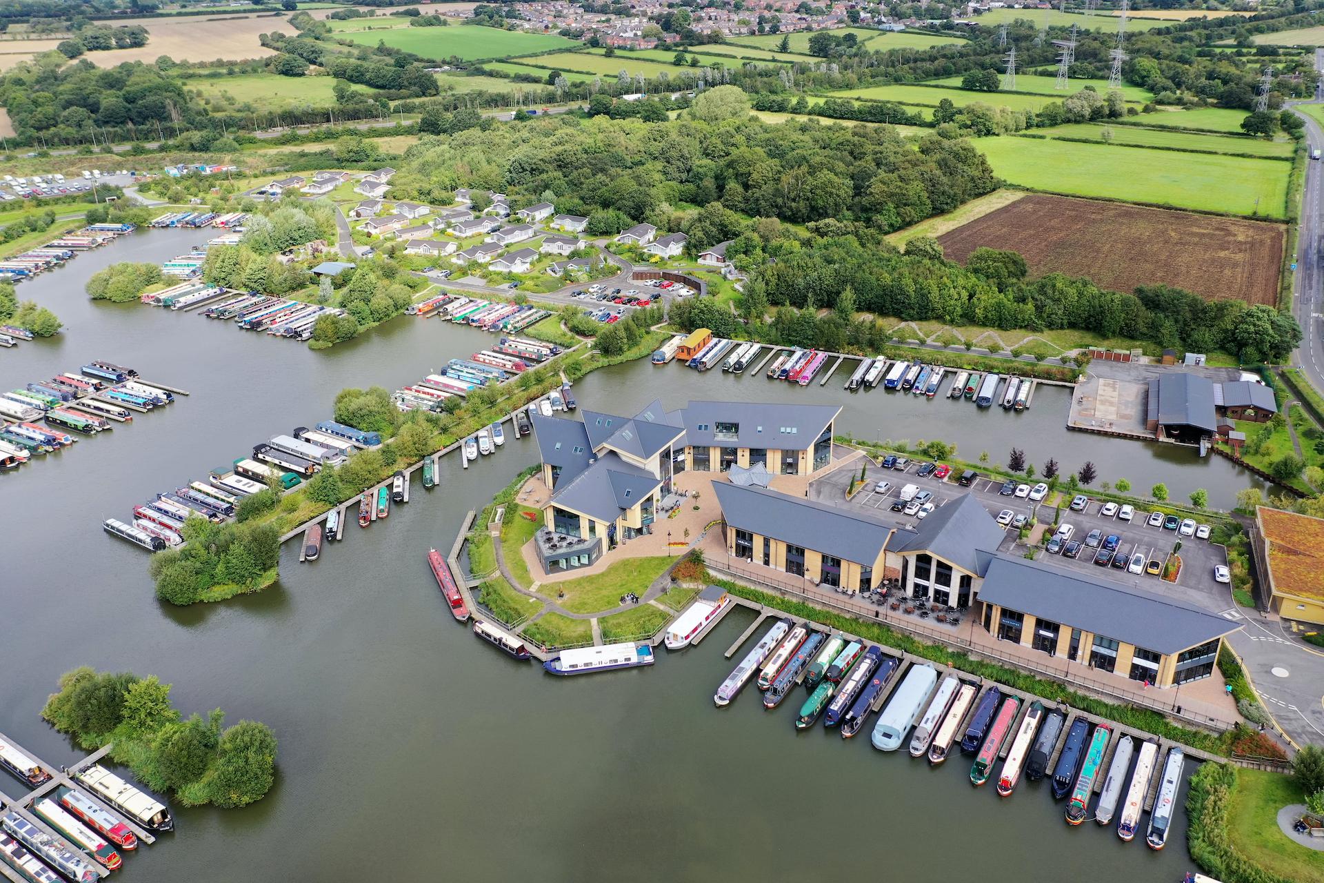 Mercia Marina, Derbyshire