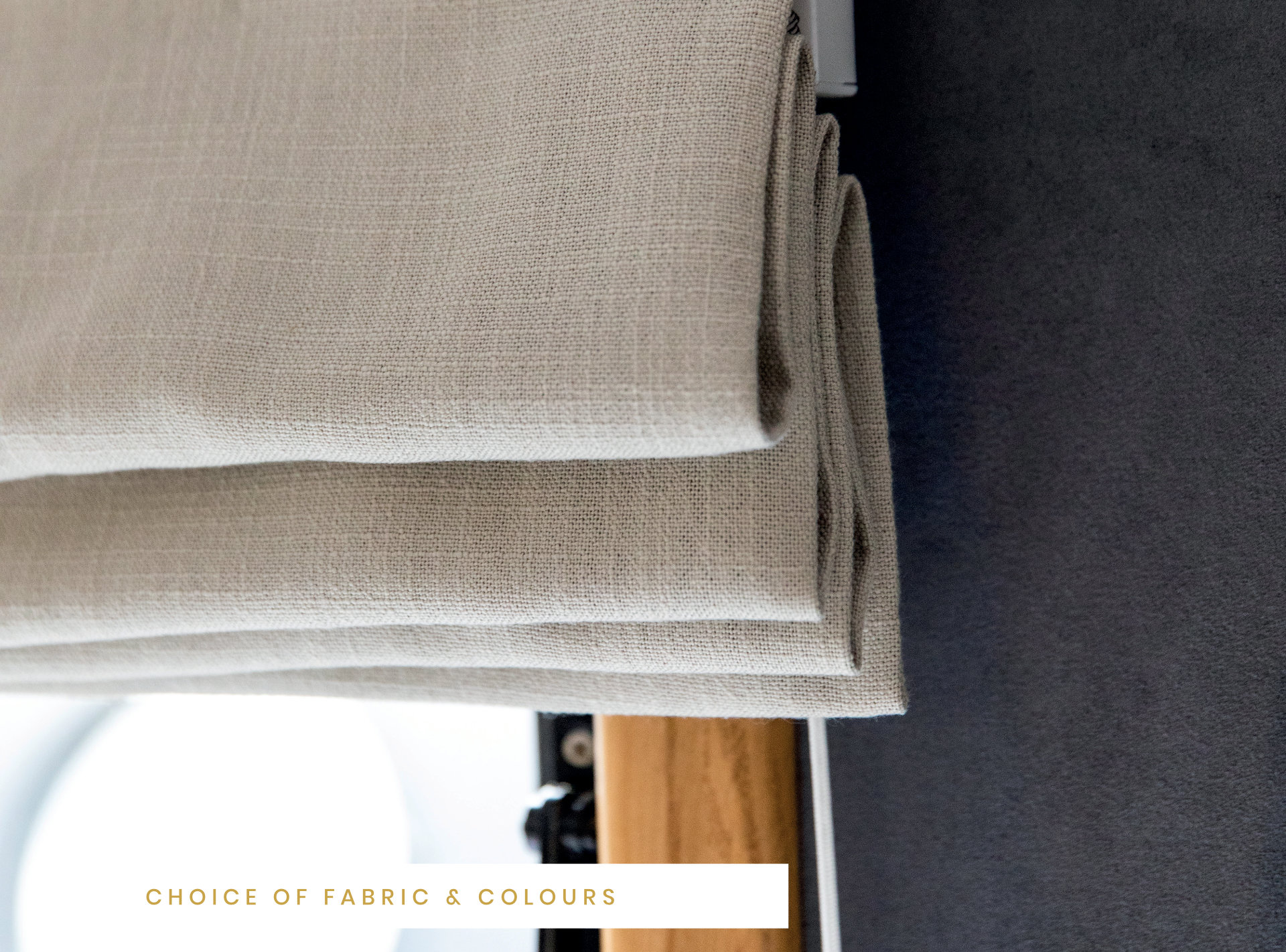 choice of fabric colours